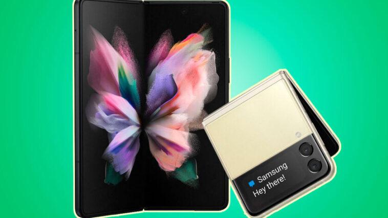Les Samsung Galaxy Z Fold 3 et Z Flip 3 apparaissent dans toute leur splendeur dans une fuite : voilà à quoi ressemblera le prochain pliage selon Evan Blass