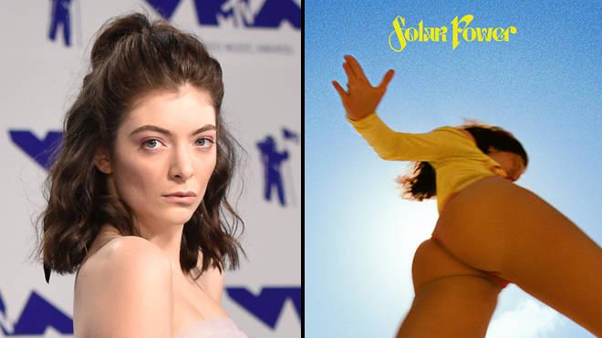 Les fans de Lorde sont suspendus pour avoir partagé son art Solar Power sur les réseaux sociaux