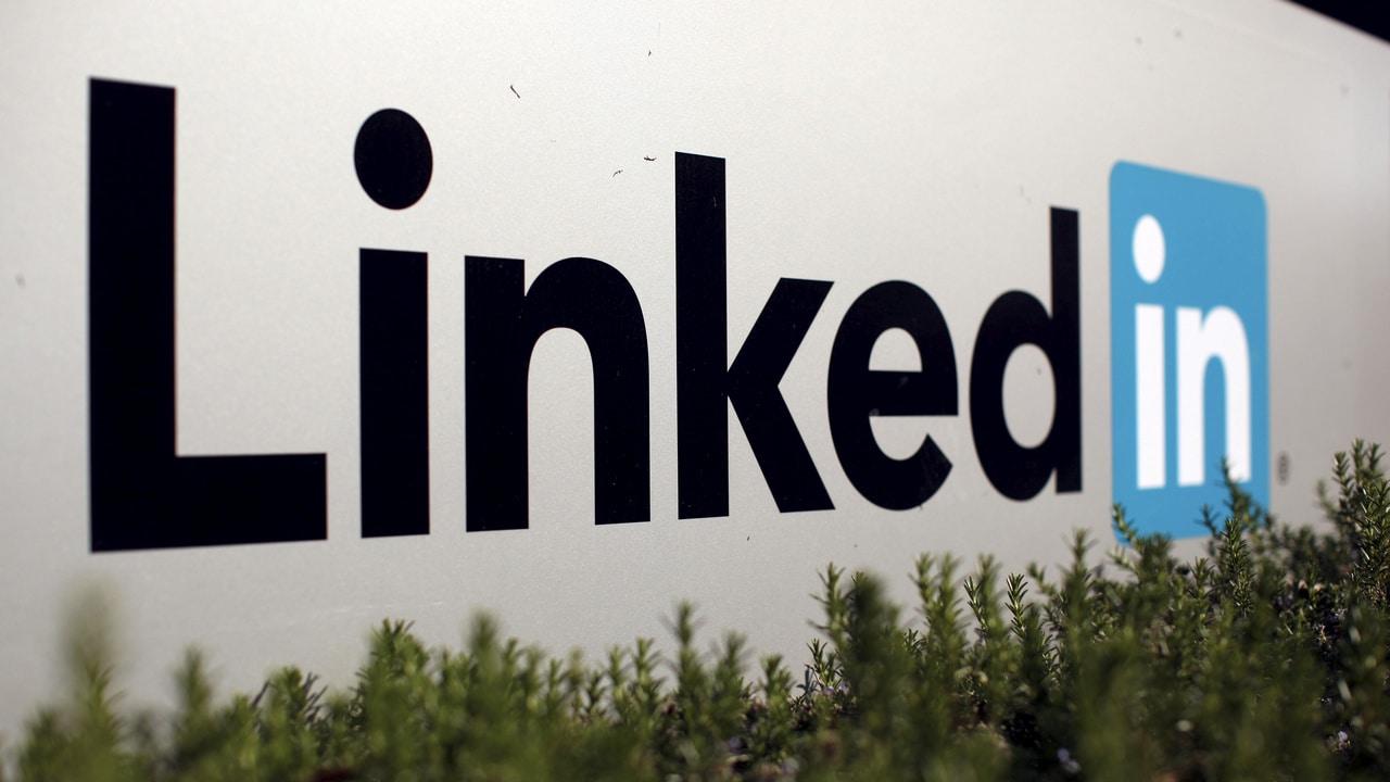 Le logo de LinkedIn Corporation.  Image: Reuters