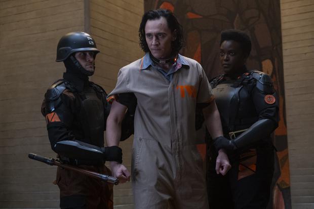 Loki ne peut pas utiliser ses pouvoirs dans les bureaux de TVA (Photo : Disney+/Marvel)