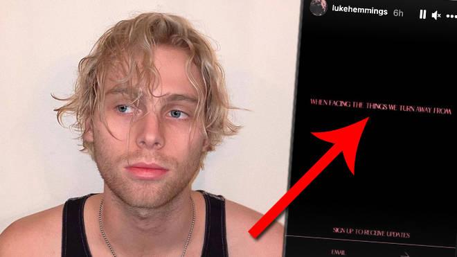 Luke Hemmings De 5sos Annonce Son Premier Single Solo When