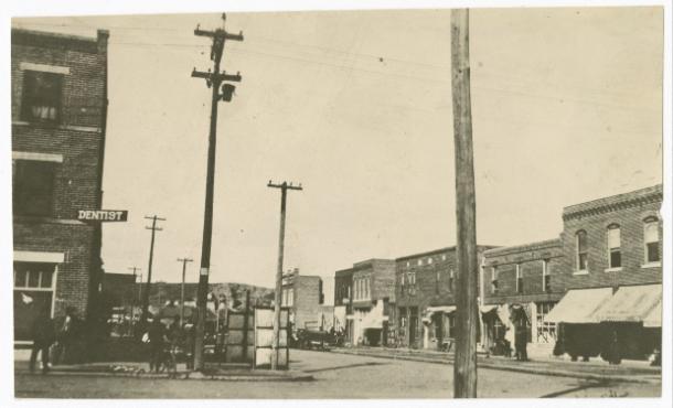 Black Wall Street avant le massacre de Tulsa