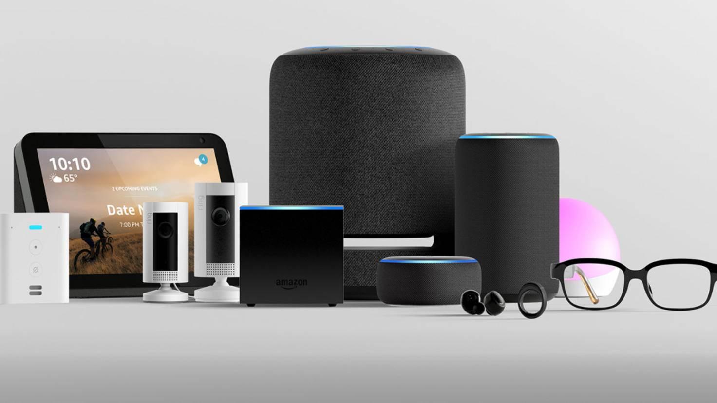 La famille Amazon Echo a déjà une taille considérable.