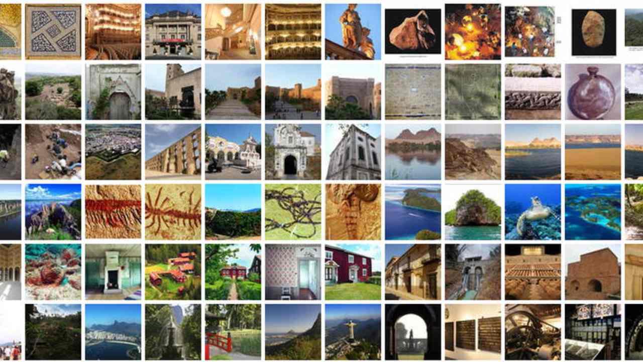 Sites du patrimoine mondial des Nations Unies inscrits en 2012 Crédit d'image : UNESCO
