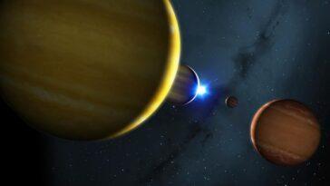 Quand Cette étoile Soufflera, Ses Planètes Se Transformeront En énormes
