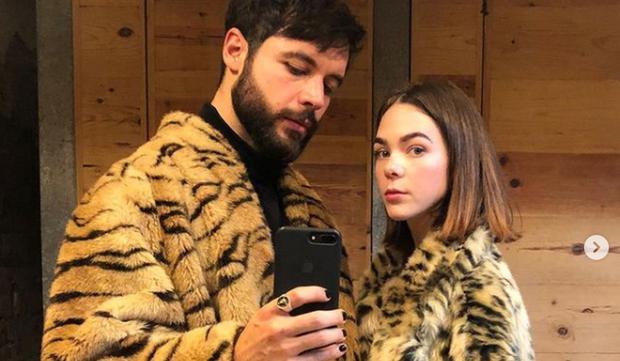 La jeune femme n'hésite pas à publier l'amour qu'elle éprouve pour son partenaire sur ses réseaux sociaux.  (Photo : Ximena Lamadrid / Instagram)