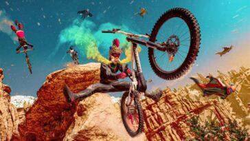 Riders Republic PS5 aura plus de joueurs à l'écran que PS4