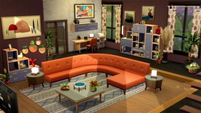 Mobilier modulable Sims 4