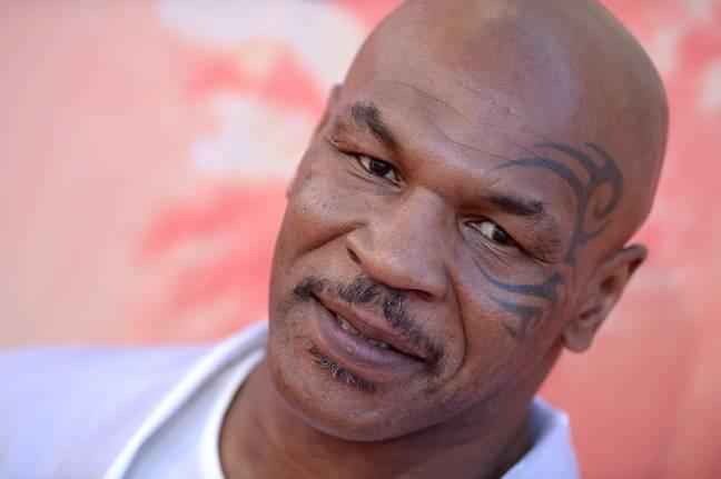 Mike Tyson.  Crédit : PA