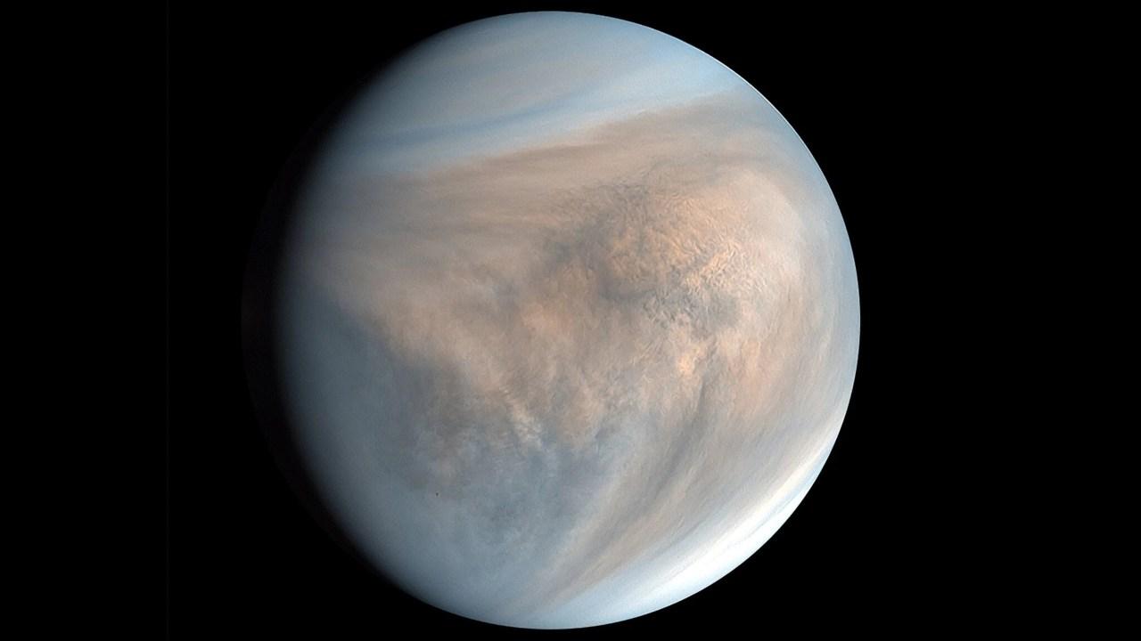 Vénus.  Crédit d'image: PLANET-C/JAXA