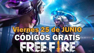 Canjear Free Fire Codigos Gratis 25 Junio 2021 Codigo Free Fire.jpg