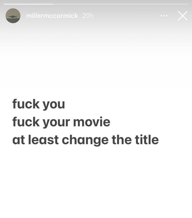 Histoires Instagram de Miller McCormick