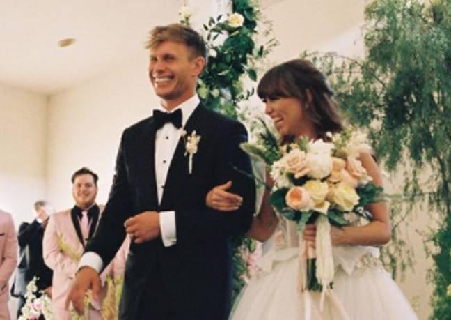 Le mariage de Riley Reid (Crédit: Instagram/paschatheboss)