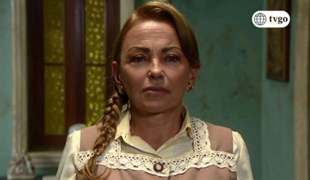 L'actrice dans le rôle de Mama Rosa.  (Photo: Amérique TV)