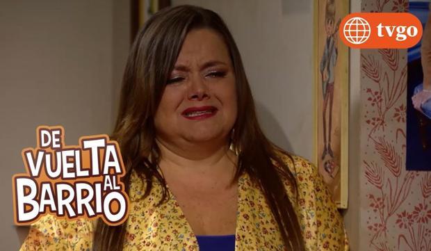 L'actrice comme Cristina.  (Photo: Amérique TV)