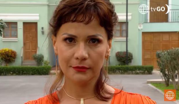 Malena Ugarte dans la quatrième saison.  (Photo: Amérique TV)