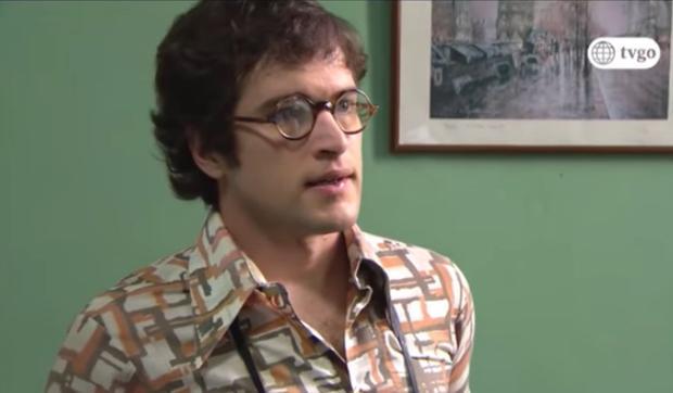 Dante dans la première saison.  (Photo: Amérique TV)