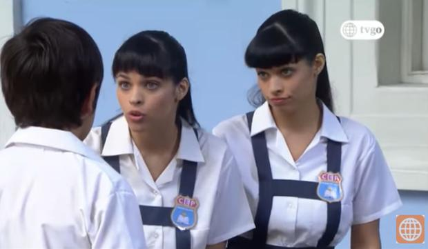 Sarita et Estela dans la première saison.  (Photo: Amérique TV)