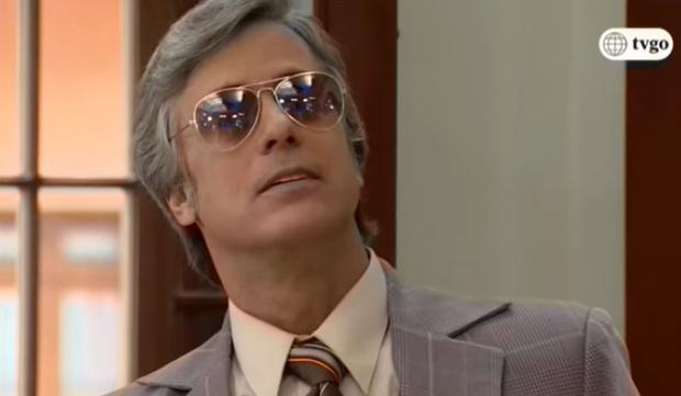 Luis Felipe Sandoval lors de la première saison.  (Photo: Amérique TV)