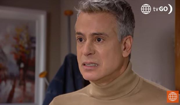 Luis Felipe Sandoval dans la quatrième saison.  (Photo: Amérique TV)