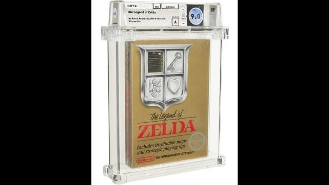 Une Copie Non Ouverte De The Legend Of Zelda De