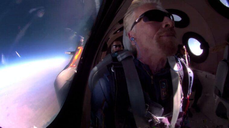 Richard Branson De Virgin Galactic S'envole Dans L'espace : Comment