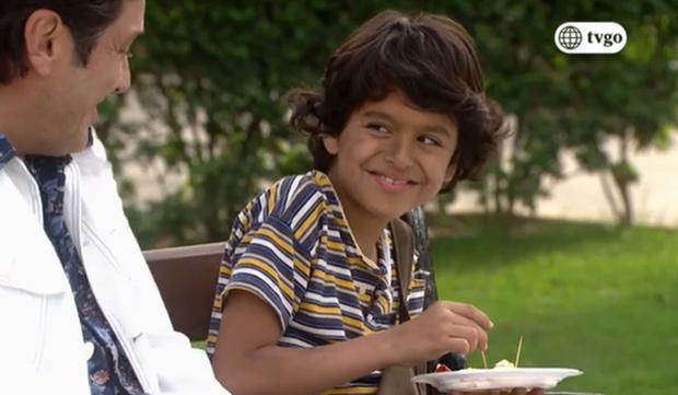 L'acteur comme Coquito.  (Photo: Amérique TV)