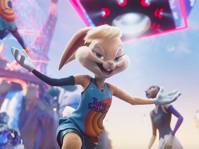 Le Lola Bunny réinventé de Space Jam 2. Crédit: Warner Bros