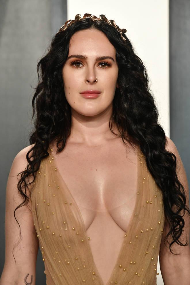 Rumer Willis assiste à la soirée des Oscars Vanity Fair 2020
