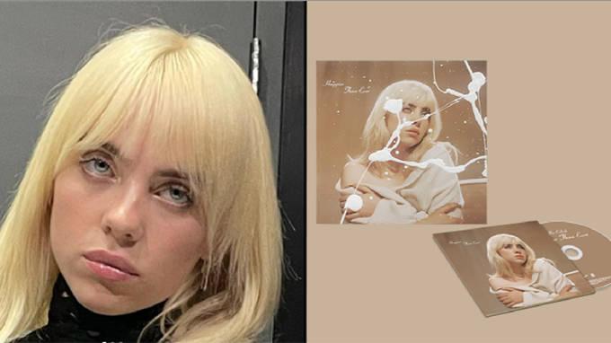 """Billie Eilish Reçoit Un Contrecoup Sur Les Cd """"peints à"""