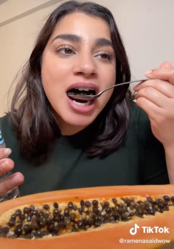 graines de papaye tiktok vermifuges