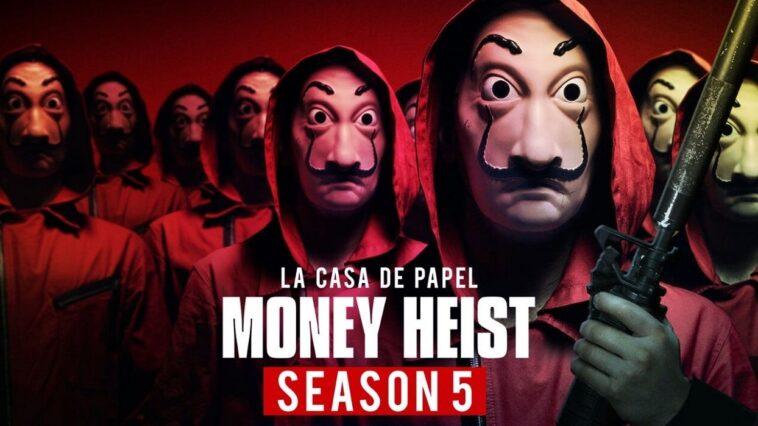 Money Heist Saison 5: La Bande Annonce Sortira Dans Une Semaine