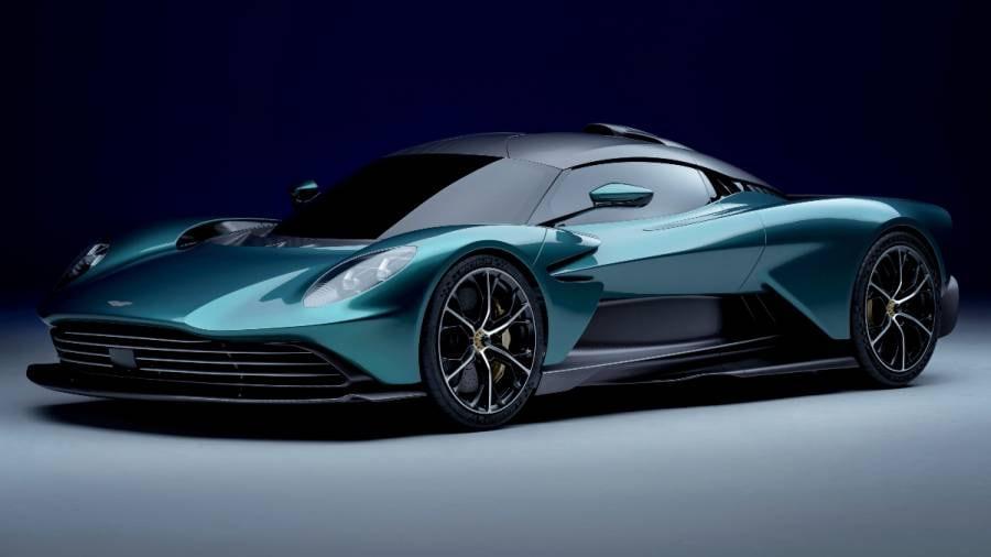 Le moteur V8 de l'Aston Martin Valhalla provient de Mercedes-AMG.  Image : Aston Martin
