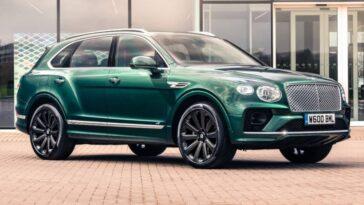 Bentley Bentayga Obtient L'option Des Plus Grandes Roues Entièrement En
