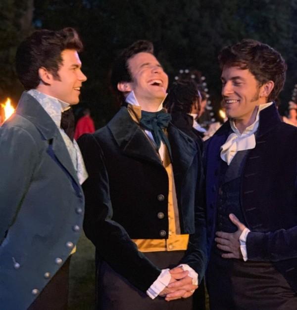 Tous les frères Bridgerton auront un grand rôle.  Photo: (Netflix)