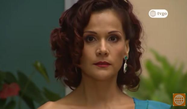 Malena Ugarte dans la première saison.  (Photo: Amérique TV)