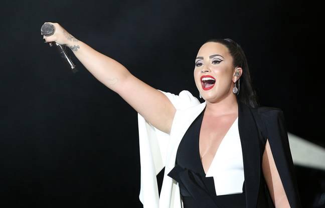Lovato en 2018. Crédit : PA