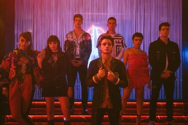 Le nouveau casting d'Elite.  Photo: (Netflix)