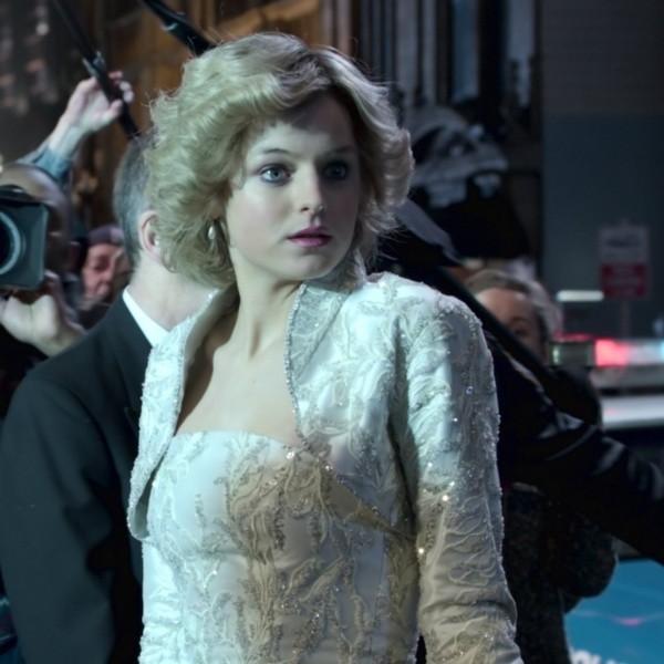 Emma Corrin est Lady Diana.  Photo: (Netflix)