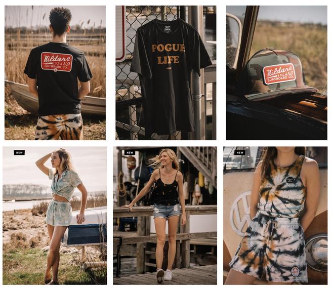 La collection Volcom X Outer Banks comprend des t-shirts Pogue Life