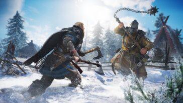 La mise à jour d'Assassin's Creed Valhalla confirmée pour le 27 juillet, ajoute une mise à l'échelle du niveau
