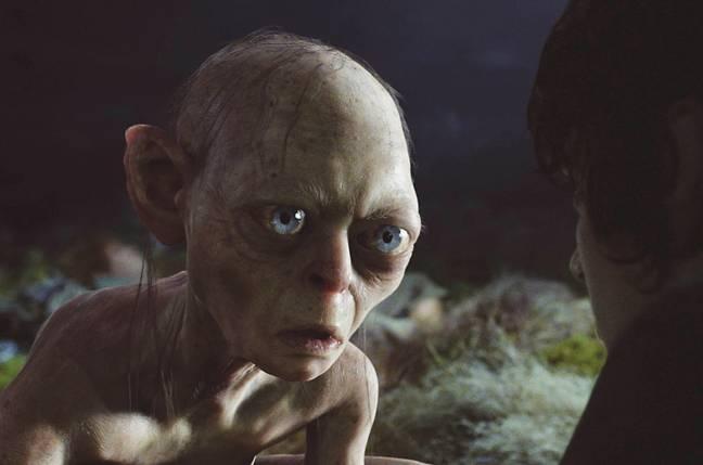 Serkis a joué le personnage de Gollum de Tolkien.  Crédit: