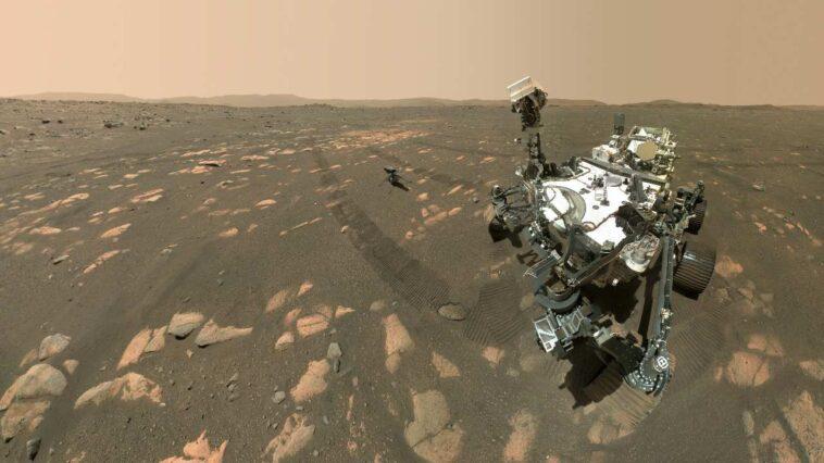 Le Rover Perseverance Se Prépare Pour Sa Première Collecte De