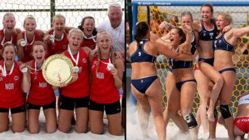 L'équipe Norvégienne De Beach Handball Condamnée à Une Amende Pour