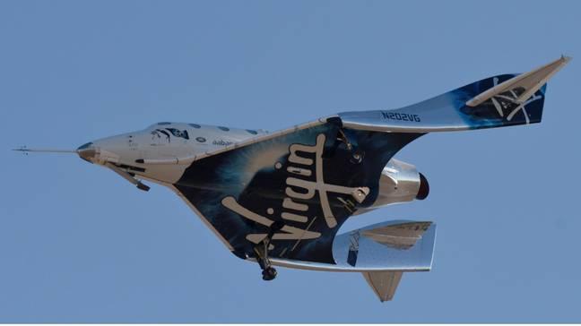Virgin Galactic lance avec succès une fusée touristique dans l'espace.  Crédit : PA