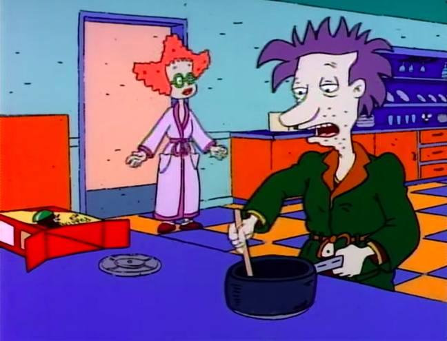 Didi et Stu Pickles.  Crédit : Nickelodeon