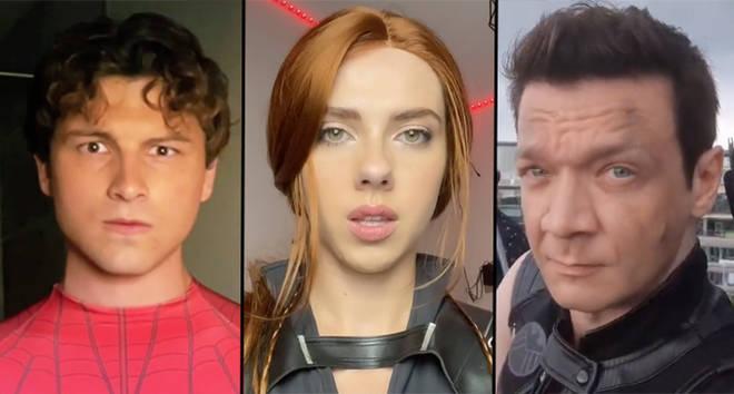 Les sosies de Marvel prennent le contrôle de TikTok