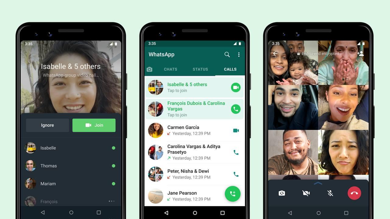 Les Utilisateurs De Whatsapp Pourront Désormais Rejoindre Des Appels De