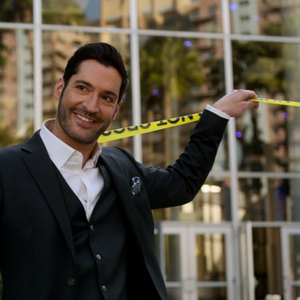 Tom Ellis dans son rôle de Lucifer.  Photo: (Netflix)