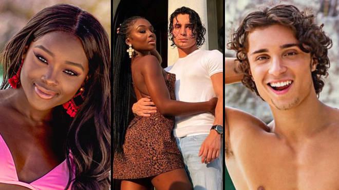 Melinda Et Peter De Too Hot To Handle Semblent Confirmer